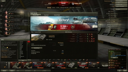 Tier 8 game with some spot damage and epic feeding Ferdinand