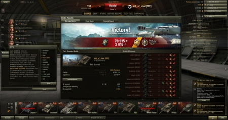 T69 Port, 10 kills, only 8 heats used.