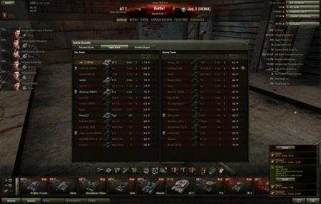 AT 7 very stronk tank and good shooter. Much damage and yes, win. No pluton, Juti = Han Solo.