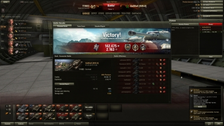 Awesome match on Ensk. T30 and T110E3 owned that match with about 16100 damage caused and 11 kills.