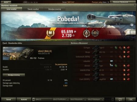2331 xp 7 kils 5897 dmg using isu-152