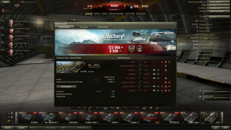 Decent game. Ill add replay aswell. http://wotreplays.com/site/299904#fisherman_s_bay-zed-su-100y