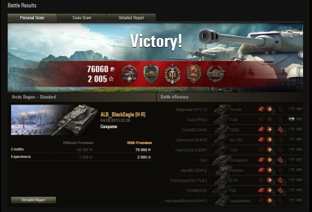 To say that I had some lucky bounces would be an understatement as I should have been dead at least 4 times including a heat shell from the M103 but oh boy what a carry this was with the other 2 guys which I would like to congratulate on a sterling job aswell.  Hope that you like the blind kill of the SU by simply guessing the last position on the minimap .... hacks? ... maybe!