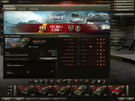 This is the screenshot in my KV4 my mastery badege, top gun and steel wall, and my highest XP yes at 2157