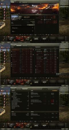 Poraz Bitka: Ensk 9/15/2013 22:57:44 Vozilo: T-62A Primljeno iskustva: 1,231 Primljeno kredita: 122,720 Dostignuća u borbi: Snajperista