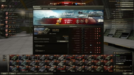 Stronk carry with KV-2