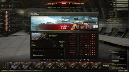 Big smash with nicely defending at the end. Dealt 8280 damage and got 8 kills + some medals earned.