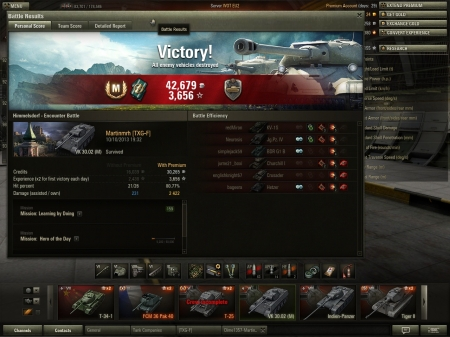 Had this vehicle 3 days and Mastery badge, great DPM with top gun, three badges, Master Ace Badge, Steel Wall and Sharpshooter