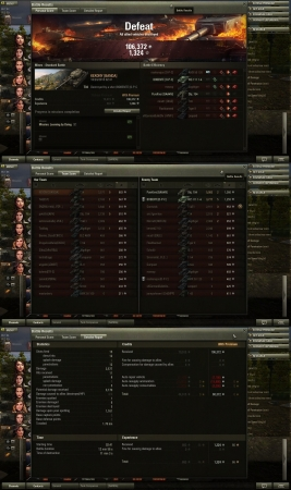 T34 - 106k in defeat!