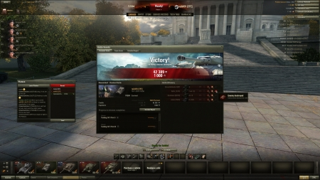 I encountered a Russian roaming supertester with unreleased T-44-122 and decided to do away with him.