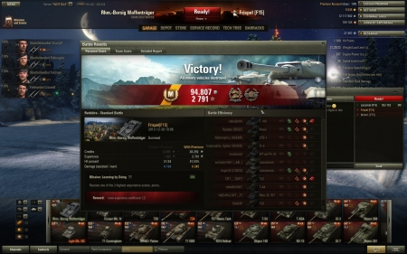Nice game in Borsig  Credits can be seen on wotreplays:  http://wotreplays.com/site/508950#report